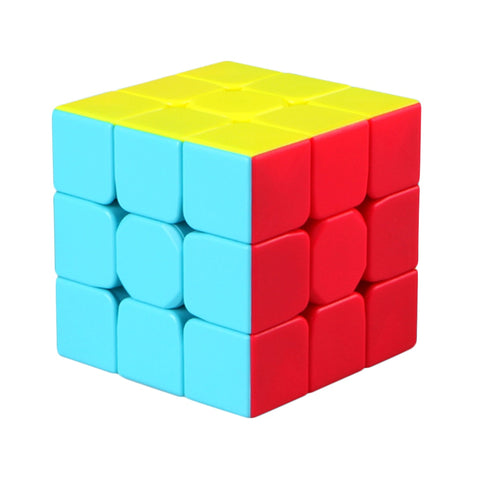 New Qiyi Mofangge Warrior 5.7cm 3*3*3 Speedcube Vivid Color Scheme
