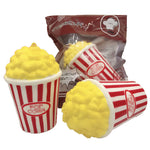 1Pcs Jumbo Slow Rising Squeeze Soft Popcorn Antistress Toys for Children Adults  Funny