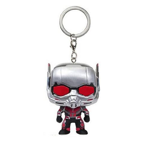 Avengers 3 Infinity War Hulk Iron Man Spiderman Thanos Vision Captain America Ant Thor Loki Grooted Action Figures Keychain Toys