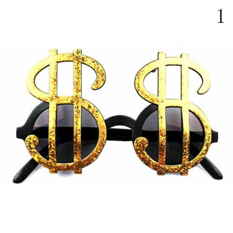 Funny Dollar Beach Sunglasses Party Glasses Dancing Supplies Hen Night Stag Party Dress Goggles Funny Gift Fashion Accessies