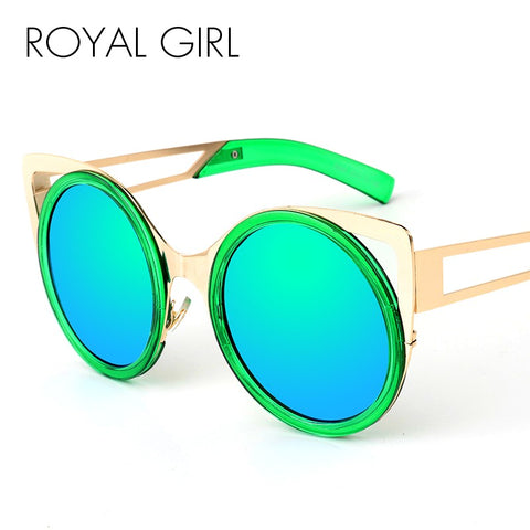 Royal Girl 2018 New Brand Designer Cat Eye Sunglasses Fashion Sunglasses ss980