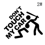Funny DON'T TOUCH MY CAR Decorative Car Stickers