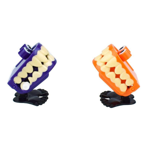 1PC Wind Up Clockwork Toy Kids Eye Ghost Jumping Chain Toys Halloween Xmas Gift