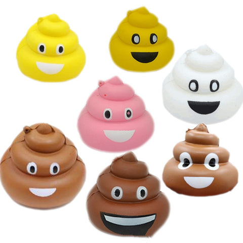 Antistress Toys Squishy Slow Rising Poop Squishe Novelty Gag Toys Practical Jokes Stress Relief Toys Children Funny Popular Gift