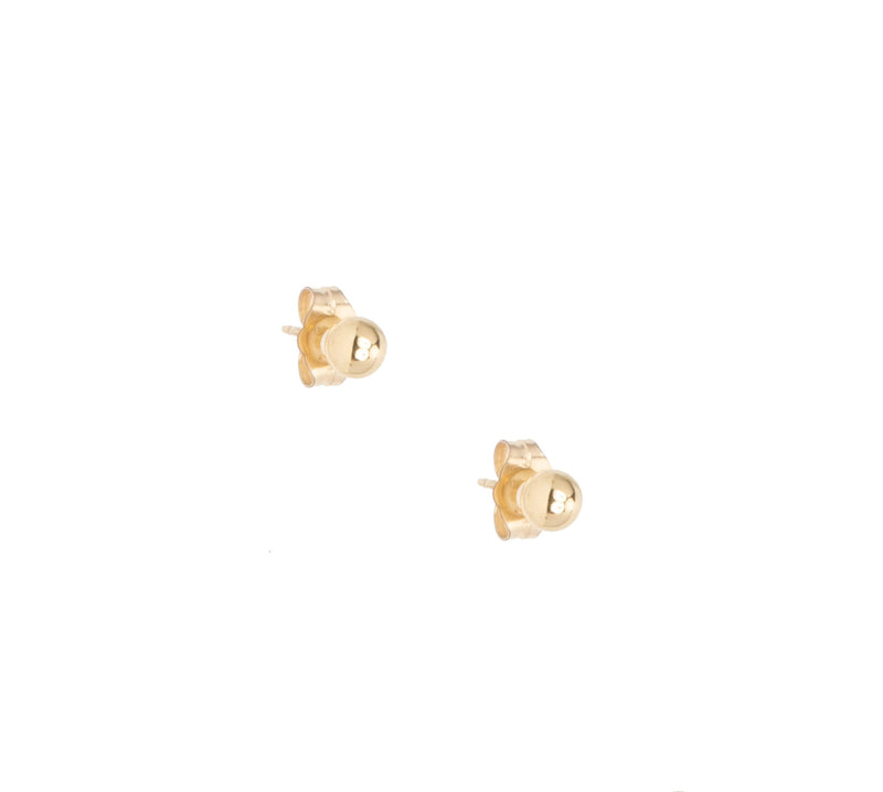 14k Large Gold Studs