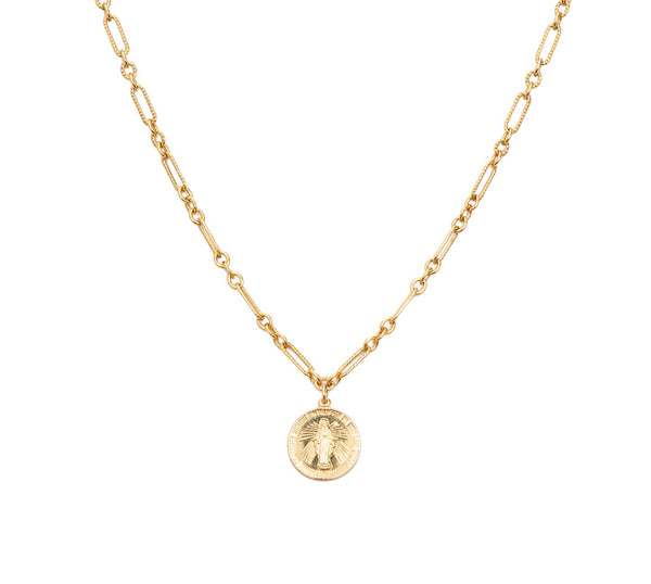 Mary Coin Necklace
