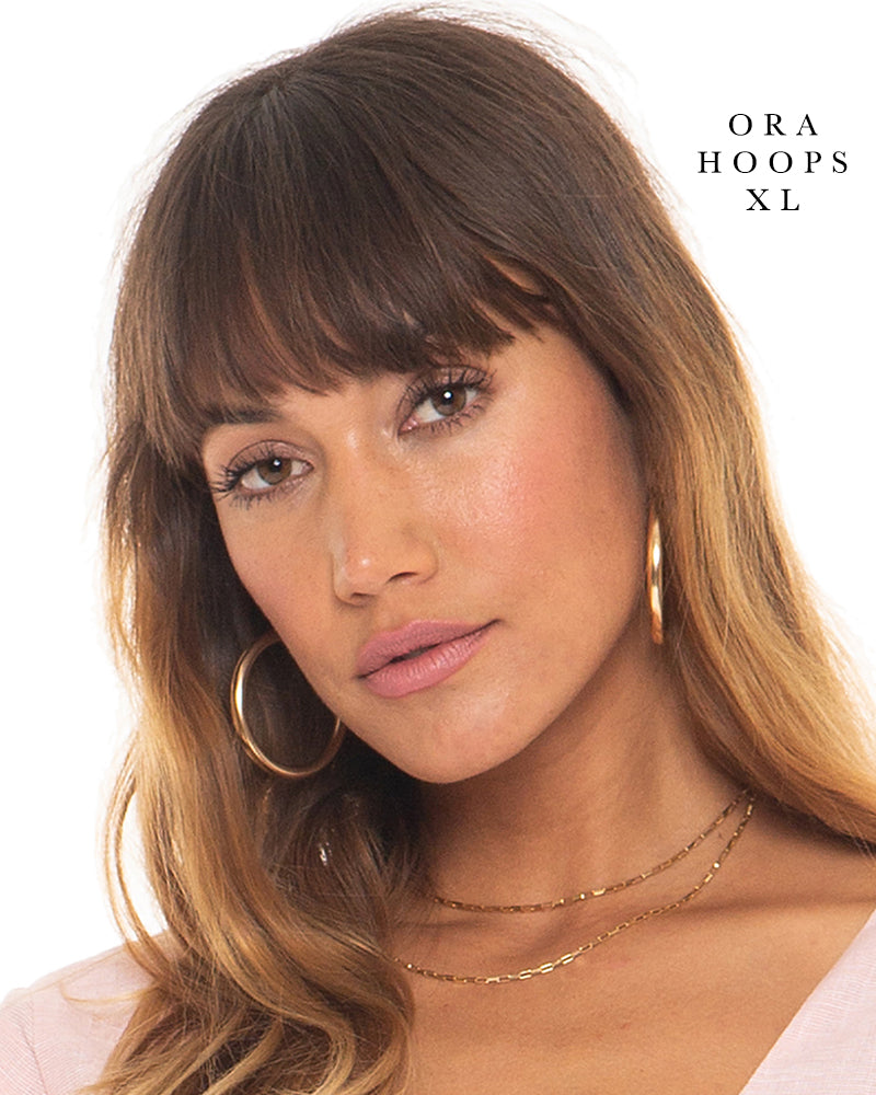 Ora Hoops - 14K Gold Filled