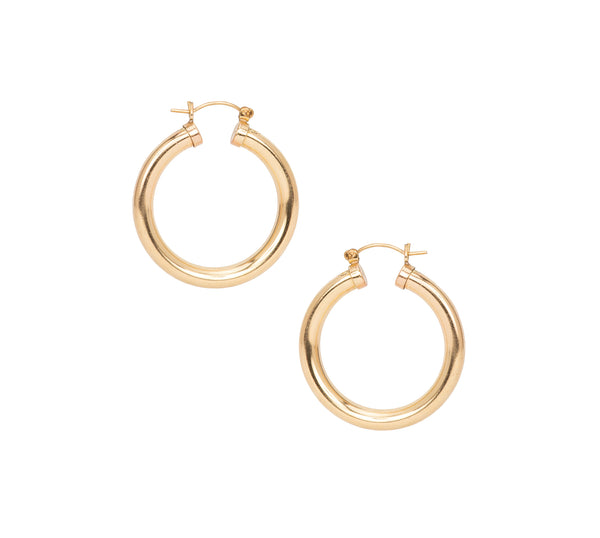 Gold Ora Hoops