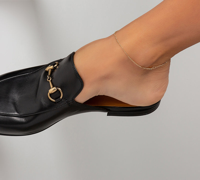 Thin Figaro Anklet