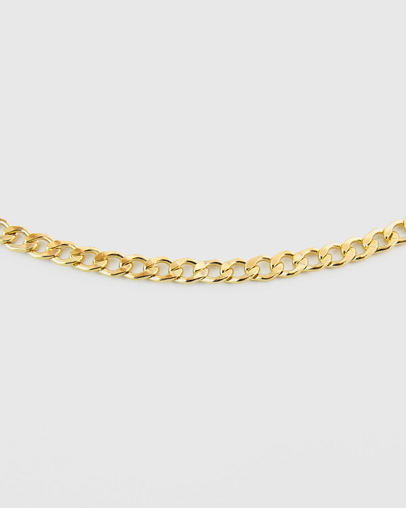 Curb Choker Chain - 14K Gold Filled