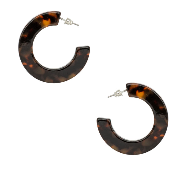 Gigi Mini Flat Hoops