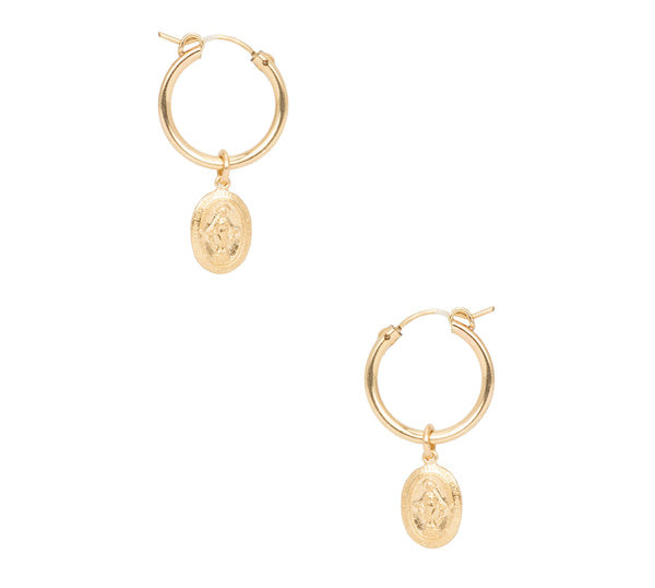 Mary Drop Earrings