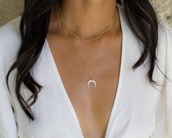 Miami Moon Necklace