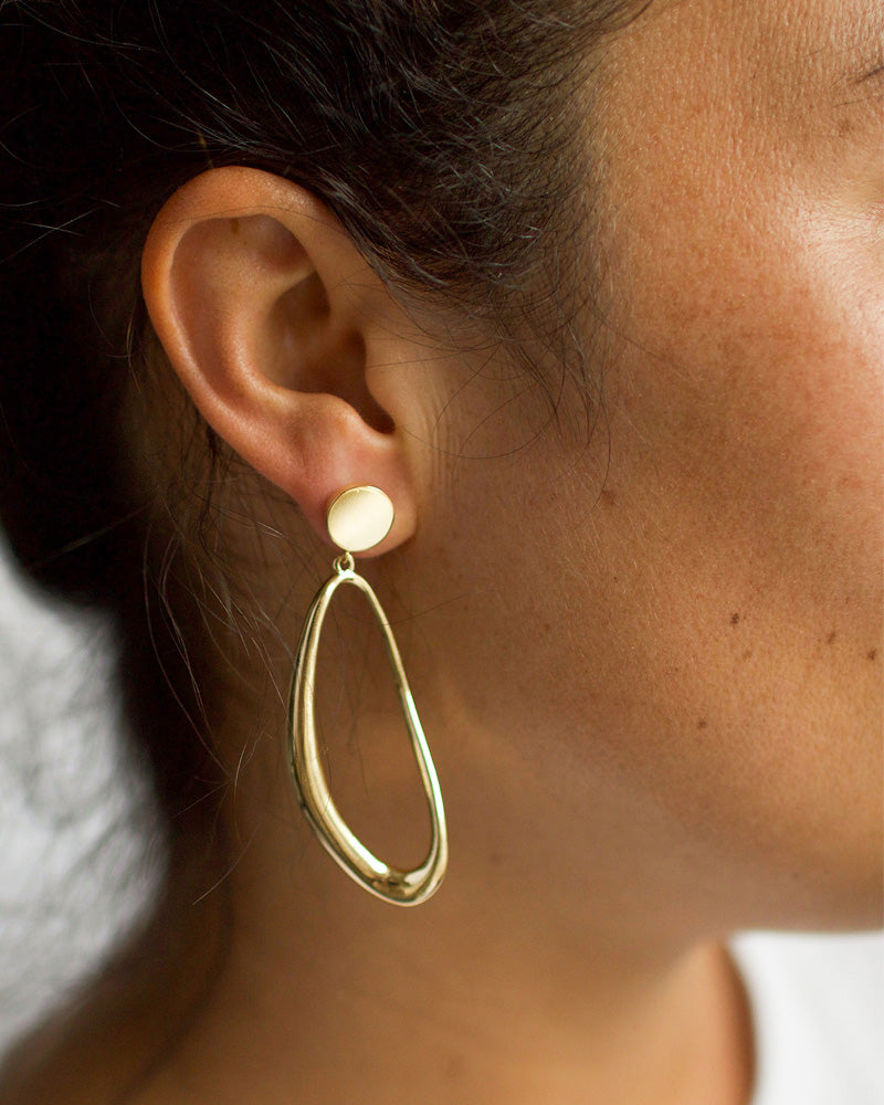 Gallos Gold Earrings
