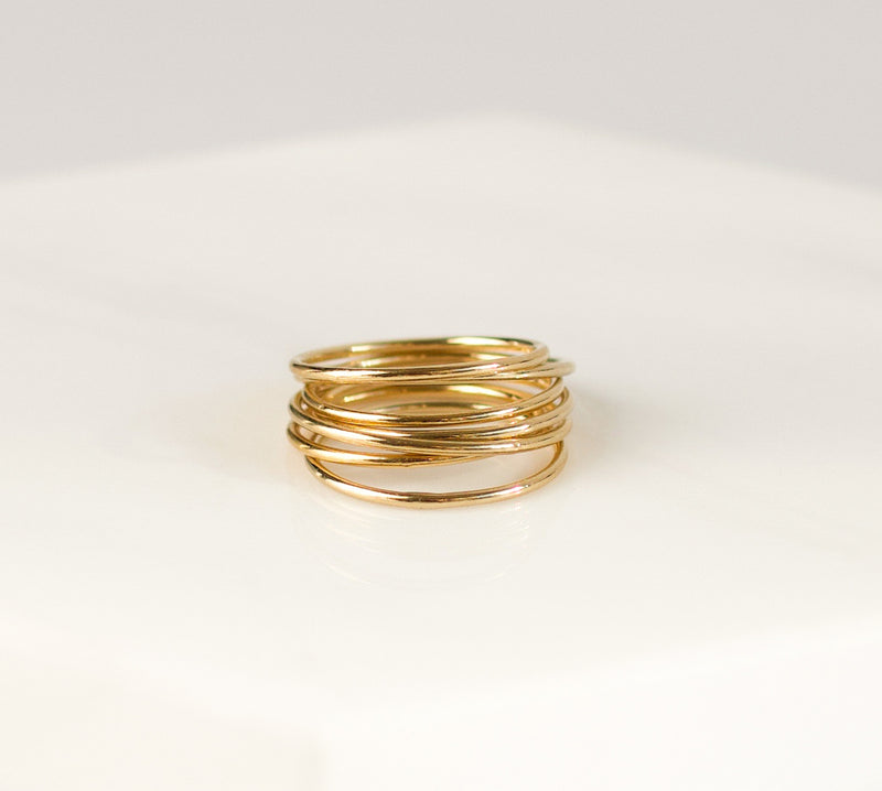 Gold Thin Band