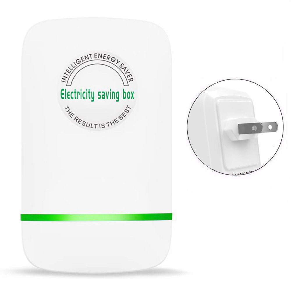 Power Energy Electricity Saving Box Household Electric Smart US Plug