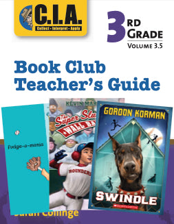 3.5 Maniac Magee Book Club Teacher Guide