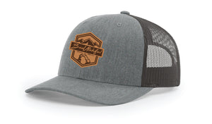 Beautahful Leather Patch Logo Hat
