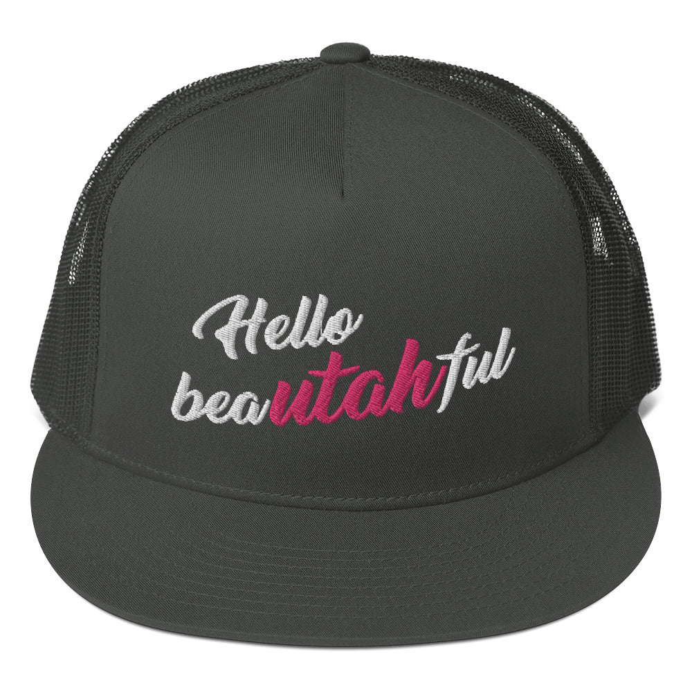 Hello Beautahful Hat