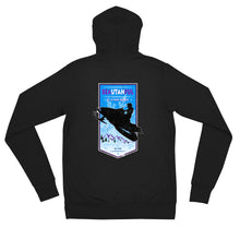 Load image into Gallery viewer, Braaap Unisex zip hoodie