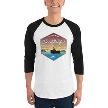 Load image into Gallery viewer, Let's go Fishing 3/4 sleeve raglan shirt