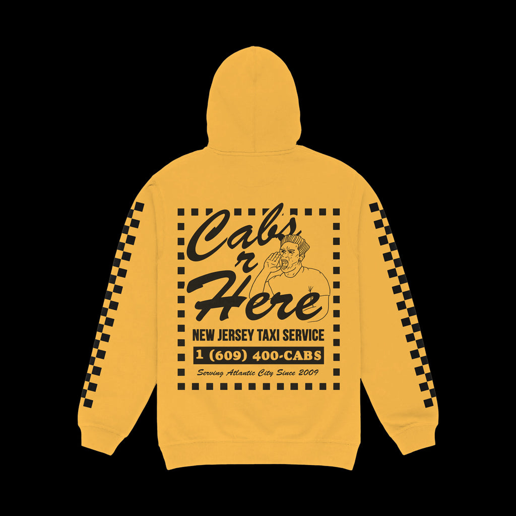Cabs R Here Gold Hoodie
