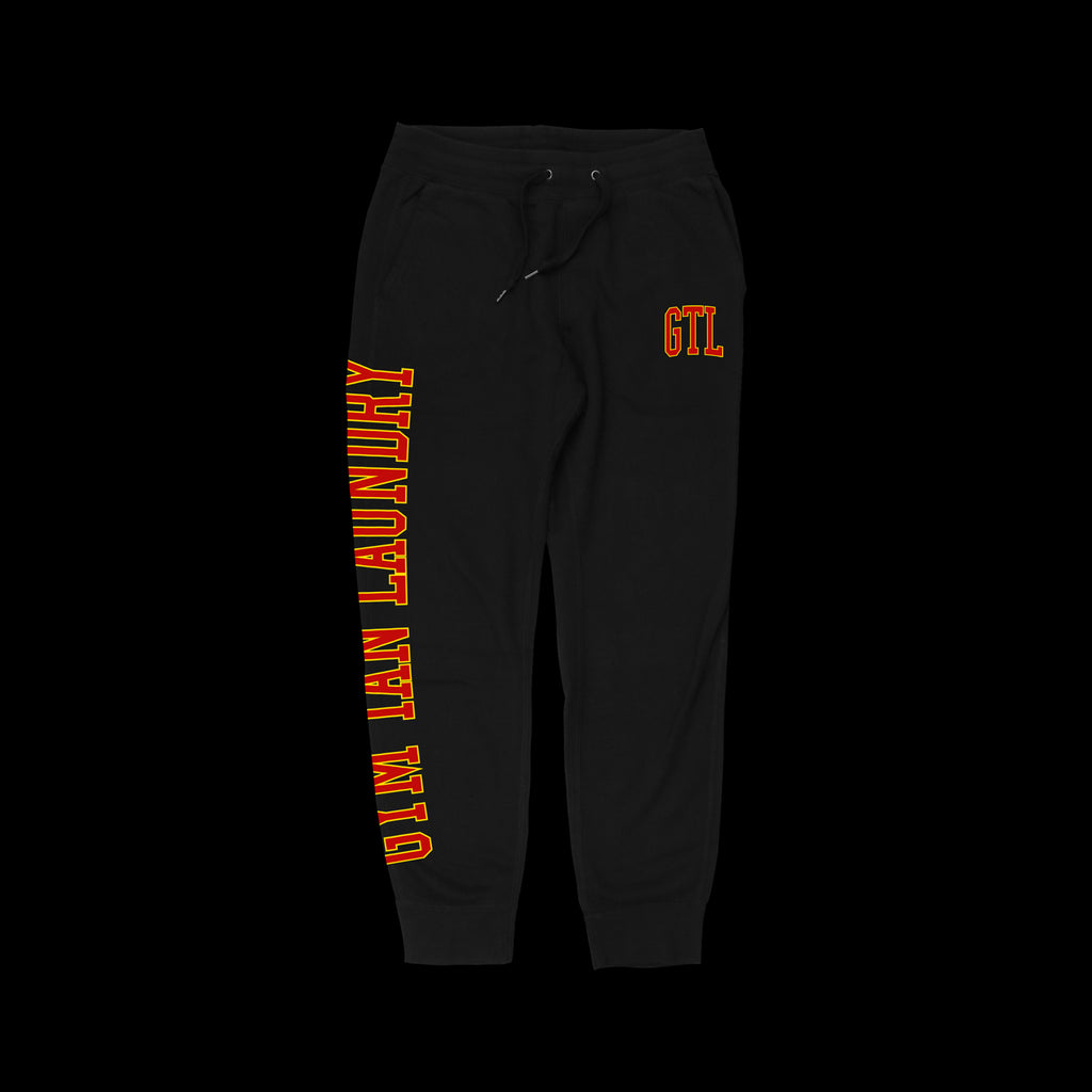 GTL Black Sweatpants