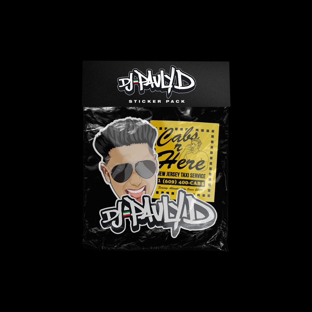 Pauly D Sticker Pack