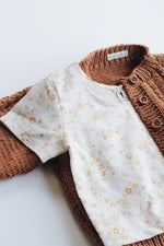 Rusty cotton cardi