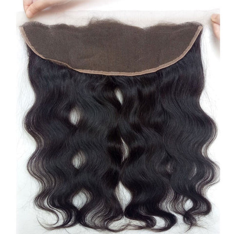 4 Bundles Body Wave Virgin Hair Weave With Lace Frontal Closure 13x4 Soft Human Hair