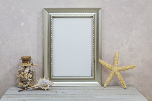 Small Gilded Table Side Frame