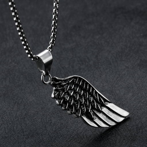 Angel Wings Men's Pendant Simple and Fashion Style Wing Necklace