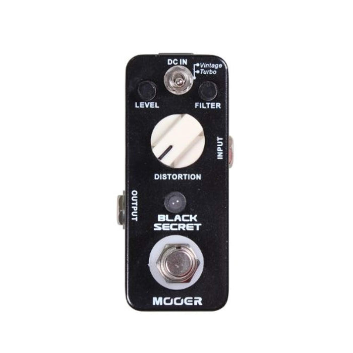 Distortion Electric Guitar Effect Pedal True Bypass Full Metal Shell Guitar Parts