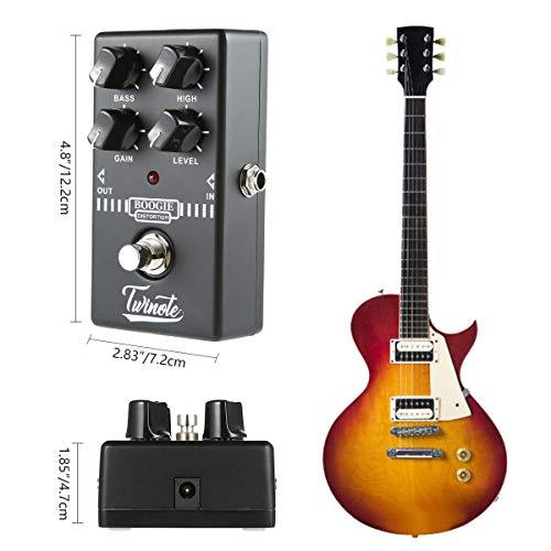 Womdee Boogie Dist Electric Guitar Distortion Monoblock Effect True Bypass - Black