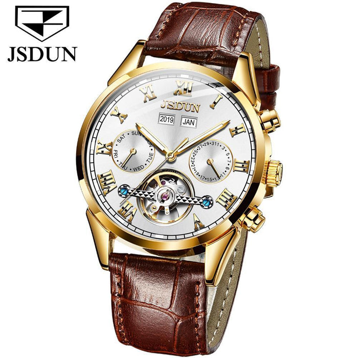 Hollow Mechanical Watch Waterproof Luminous Men's Mechanical Watch