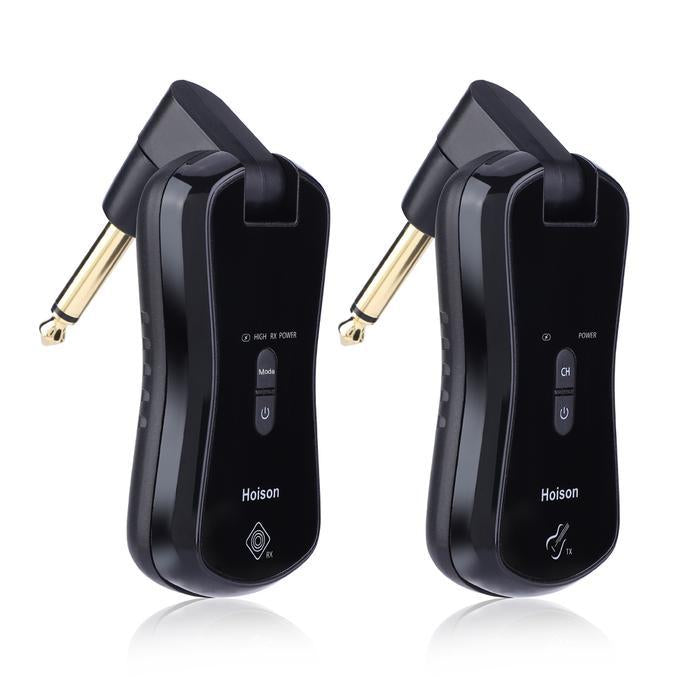 S8 Wireless Guitar System Wireless Audio Electric Guitar Transmitter Receiver 10 Channels Transmission Range High Frequency