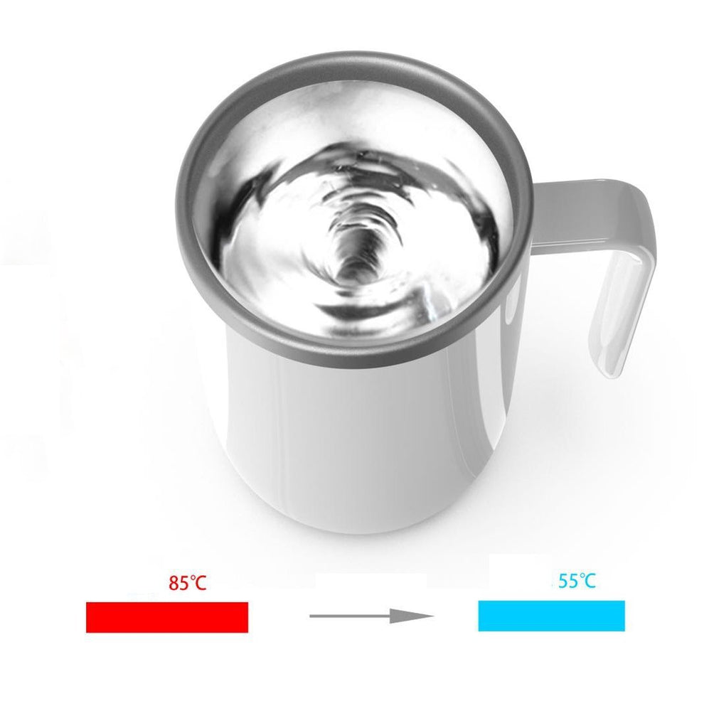 Temperature Difference Self Stirring Mug