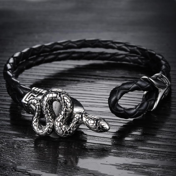 Cobra Men's Bracelet - Florence Scovel - 3