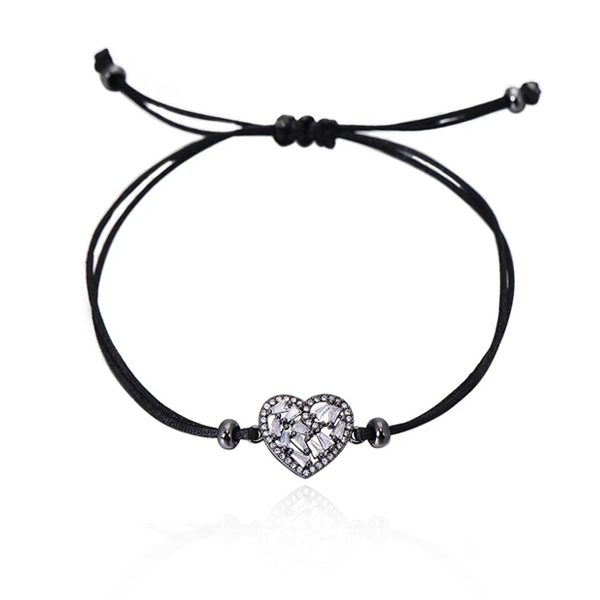Heart Strings Adjustable Bracelet