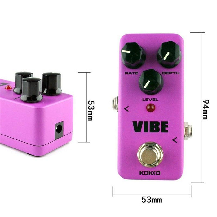 KOKKO FUV2 MINI Vibe Guitar Effect Pedal Guitar Accessories