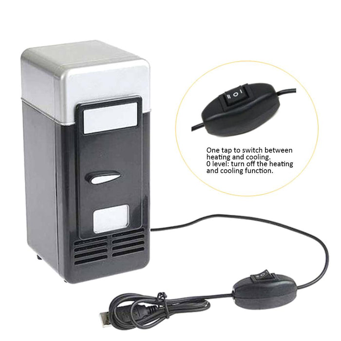 Desktop Mini USB Cooler Warmer Refrigerator