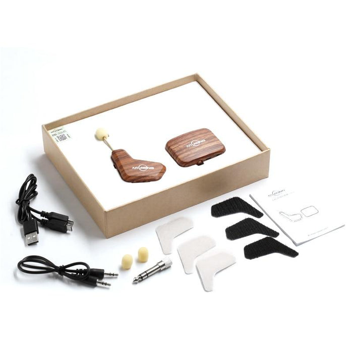 Wireless Audio Transmission Set Eletronic Pickup Microphone for Violin Guitar Guzheng Zither Erhu
