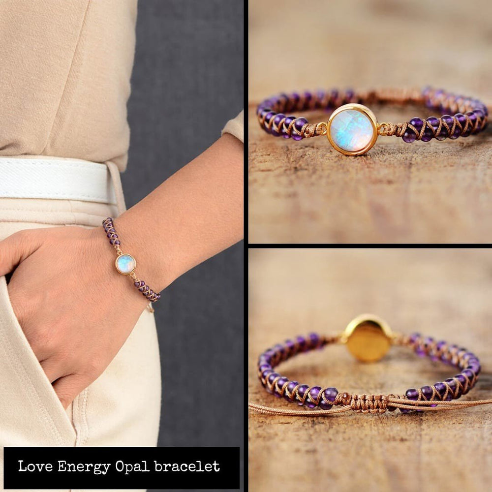 Love Energy Amethyst Opal Bracelet-Limited Edition