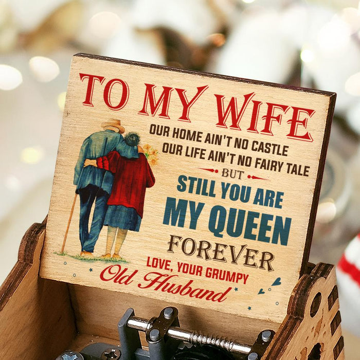 Husband To Wife - You Are My Queen Forever - Colorful Music Box