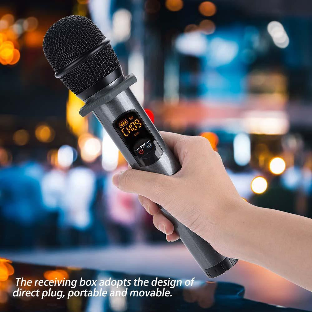 Bluetooth Wireless Direct Insert Type Handheld Microphone System