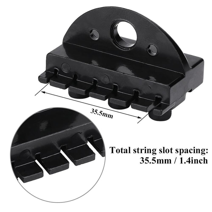 6-String Headless Electric Guitar Locking Nut Set