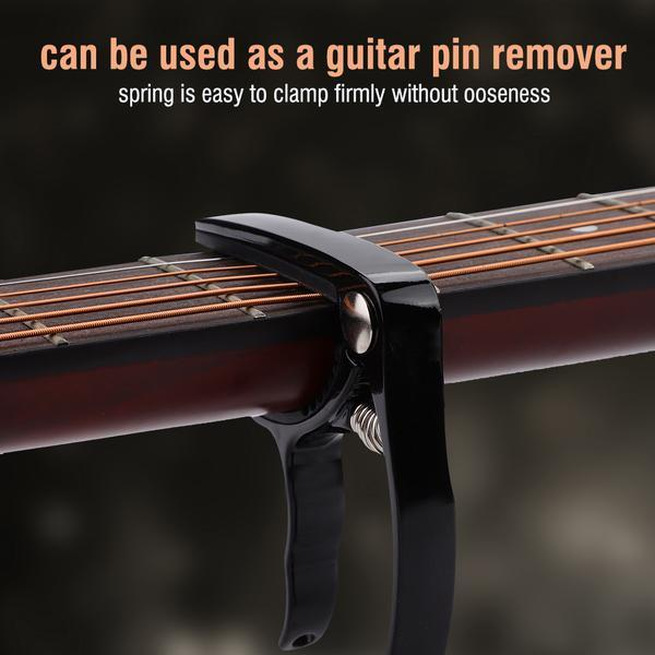 Capo Gear Pin Remover for Acoustic Folk Guitar