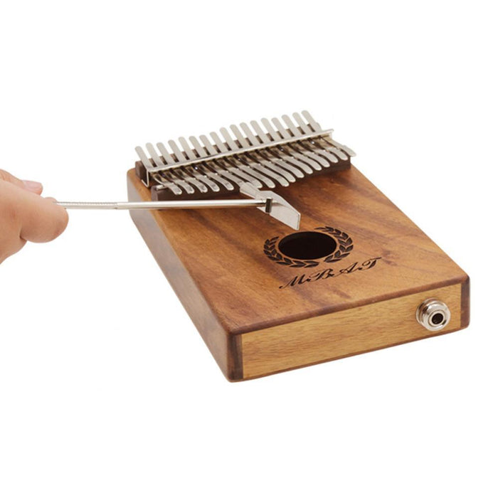 Pocket Thumb Piano Solid Musical Instrument