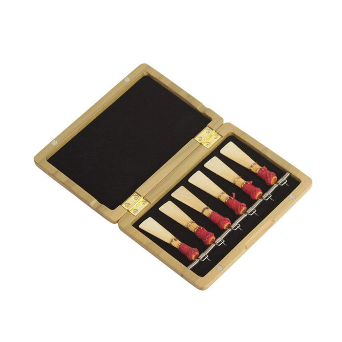 Wooden Case Holder Box for Bassoon Reeds