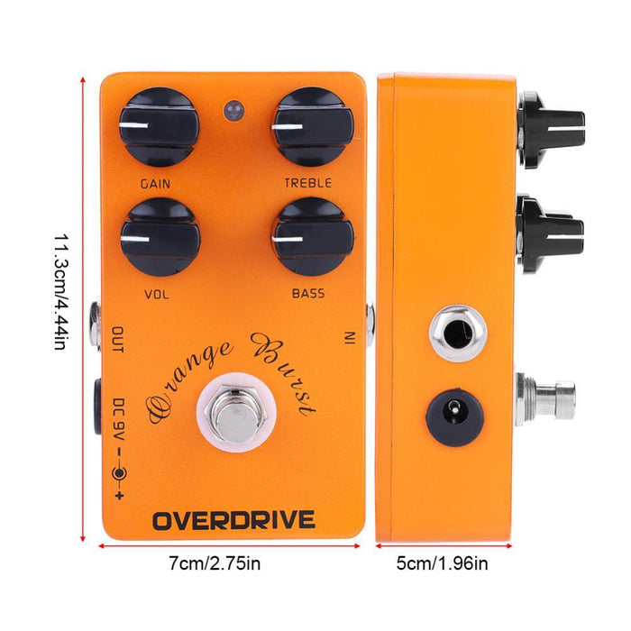 Mini Metal Overdrive Guitar Effect Pedal